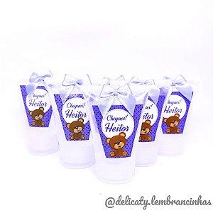 Lembrancinhas Maternidade - Mini álcool gel 40 ml na bisnaga