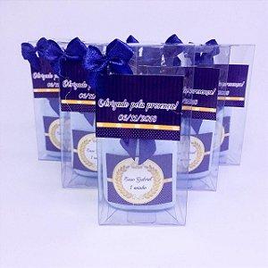Lembrancinhas Maternidade - Mini hidratante 40 ml na caixinha de acetato