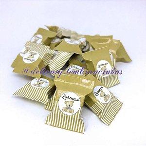 Lembrancinhas Chá de Bebê - Bala Personalizada - 100 unidades