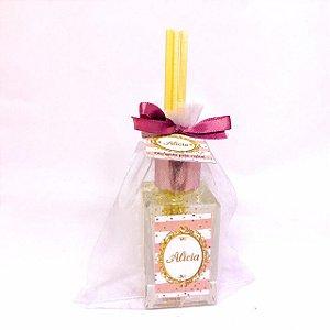 Lembrancinhas Maternidade - Mini aromatizador 30 ml Rose Gold Glitter
