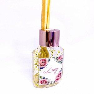 Lembrancinhas Maternidade - Mini aromatizador 40 ml Rose Gold Glitter