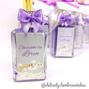 Lembrancinhas Maternidade - Mini aromatizador 30 ml classic vidro