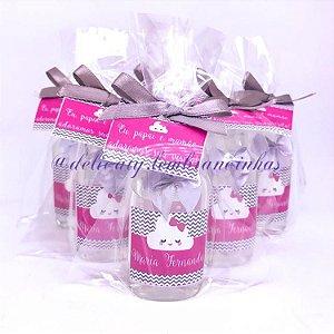 Lembrancinha Maternidade - Mini álcool gel 40 ml rep classic
