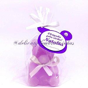 Lembrancinha Maternidade - Mini Vela Urso Classic