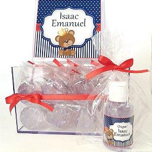 Lembrancinha Maternidade - Mini álcool gel 30 ml basic na Caixa