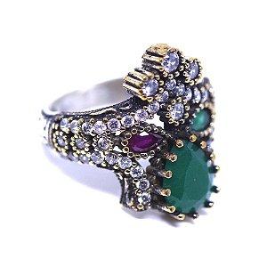 Anel de prata joias turca