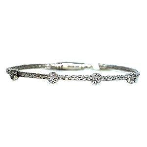 Bracelete fino de prata 925