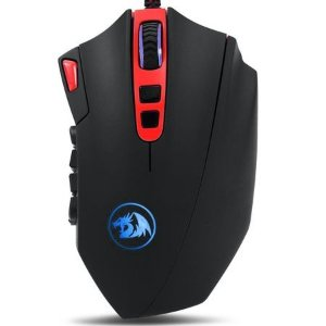 Mouse Red Dragon Perdition 16400 DPI (MOBA + Full Spectrum Colors) - Open Box Outlet