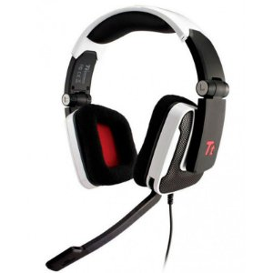 Fone Thermaltake Shock White Headset - OPEN BOX - OUTLET