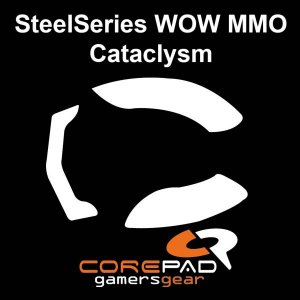 Mouseglidez Mouse Steelseries Cataclysm Skatez Teflon CorePad - 2 Kits