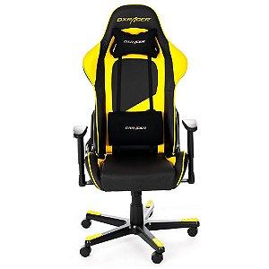 Cadeira DXRacer F-Series OH/FE09/NY Amarela