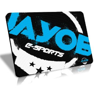 Mousepad Winpad Jayob e-Sports Médio Control (36cm x 28cm x 0,3cm)