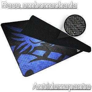 Mousepad Jayob DM Blue Médio Control - (36cm x 28cm x 0,3cm)