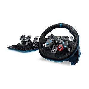 Volante Logitech G29 Driving Force Playstation 3 e Playstation 4 e PC