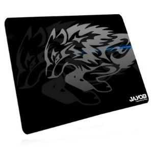 Mousepad Jayob LBK Iron Wolf - Grande Speed (45cm x 40cm x 0,3cm) Linha Exclusiva Legendary by Kirby