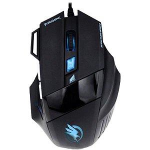 Mouse Gamer Óptico USB Fortrek BlackHawk - OM703 - 2400 DPI