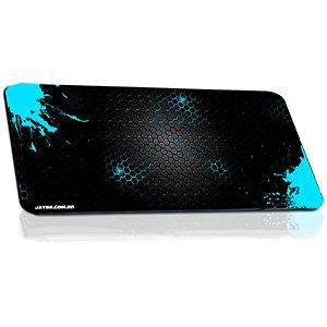 Mousepad Jayob Splash Teal Extended Speed Extra Grande - (95cm x 40cm x 0,3cm)