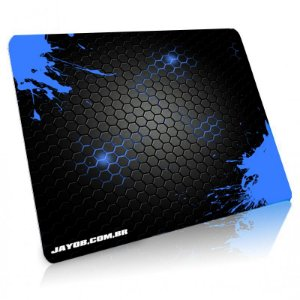 Mousepad Jayob Splash Blue Grande Speed - (45cm x 40cm x 0,3cm)