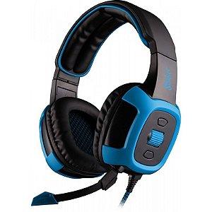 Headset Sades Shaker SA-906 Surround 7.1 USB Fone c/ Sistema de Vibração