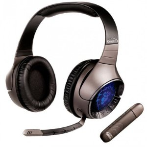 Fone s/ Fio Creative Sound Blaster World Of Warcraft Headset Wireless THX USB 7.1