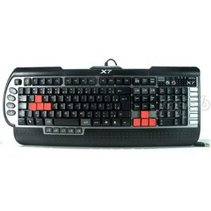 Teclado A4Tech G800V 3xFast Gaming Keyboard X7 USB ABNT2