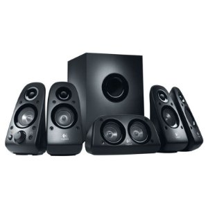 Caixa de Som Logitech Z506 5.1 Surround Sound Speakers 75W RMS