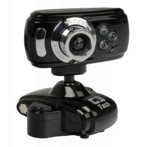 Webcam C3 Tech WB2105-P BK