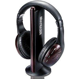 Fone Multilaser Wireless Torre Headphone PH036