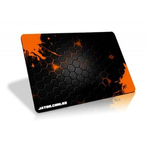 Mousepad Jayob Splash Orange - Pequeno Speed (30cm x 21cm x 0,3cm)
