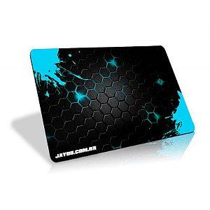 Mousepad Jayob Splash Teal - Pequeno Speed (30cm x 21cm x 0.3cm)