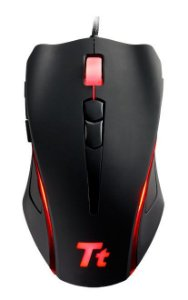 MOUSE THERMALTAKE TT-ESPORTS BLACK ELEMENT 6500DPI MO-BLE001DT - OPEN BOX - OUTLET