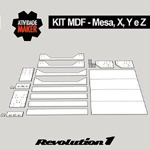Kit Estrutura MDF Completa - Revolution 1