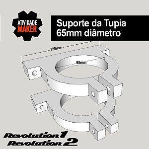 Suporte da Tupia - 65mm de diâmetro interno