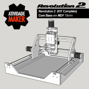 Revolution 2 - Kit Completo com BASE em MDF