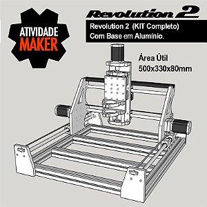 Revolution 2 - Kit Completo com BASE em Alumínio
