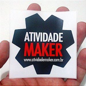 ADESIVO - Logotipo Atividade Maker