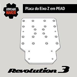 Placa do Eixo Z em PEAD