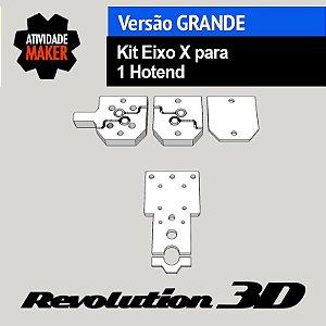 Kit Eixo X para 1 hotend