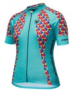 BLUSA CICLISMO FEMININA - COLORFUL - FREE FORCE