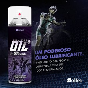 HIPER LUBRIFICANTE OIL SPRAY 200ML - SOLIFES