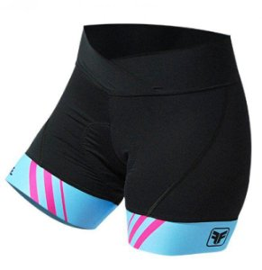 SHORT CICLISMO FEMININO - STRIPES - FREE FORCE