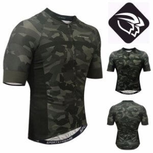 CAMISA CICLISMO MASCULINA - ARMY - SPORT XTREME