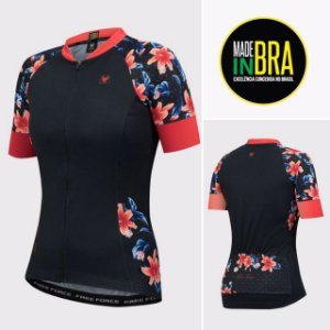BLUSA CICLISMO FEMININA - FINERY - FREE FORCE