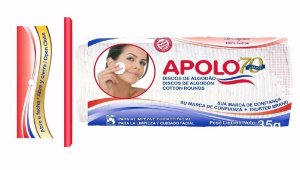 Algodão Apolo Disco Facial 35g