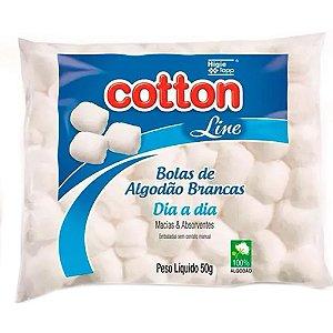 Algodão Cotton Line Caixa 50g