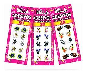 Adesivos Unhas Bella Magia Artesanal
