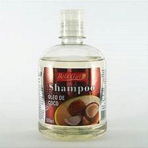 Shampoo Óleo De Coco Restaurador 500Ml Bela Gui