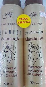 Kit Naxos Sh+Cond 500Ml Mandioca