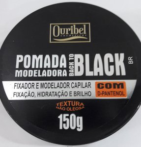 Pomada Model Ouribel 150G Black