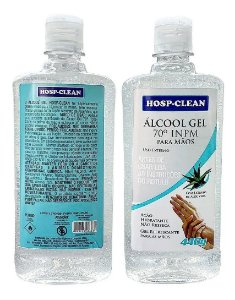 Álcool Gel 70º Hosp-Clean